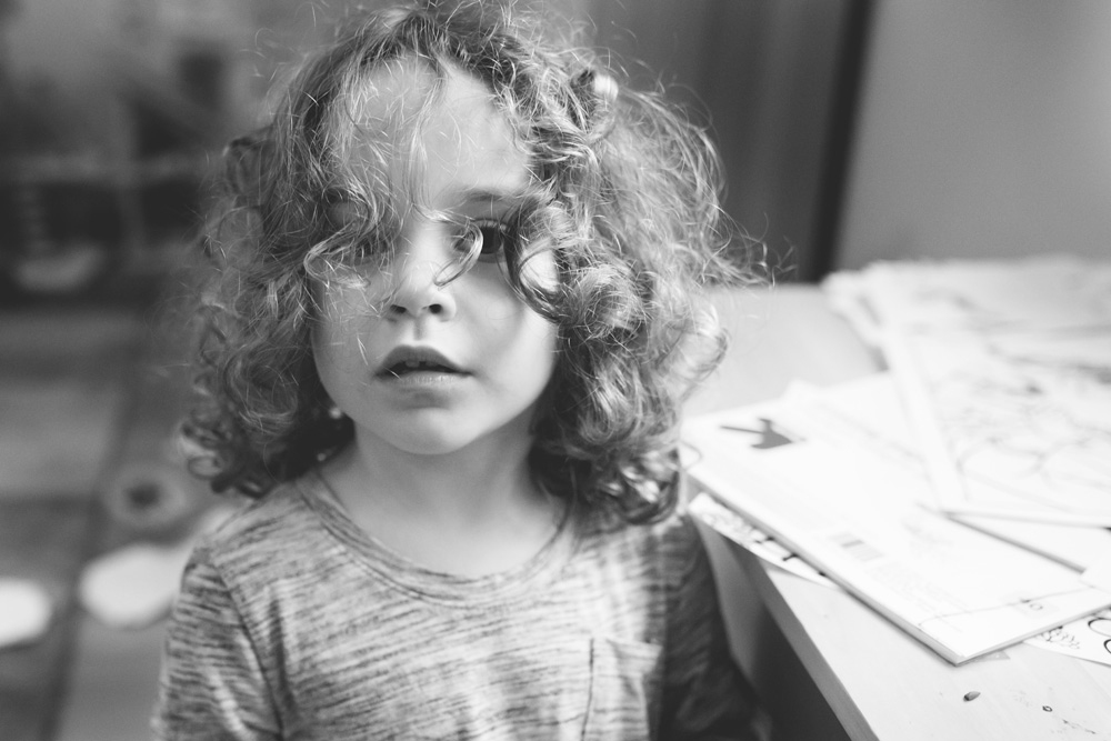 Portland documentary family photography preschooler