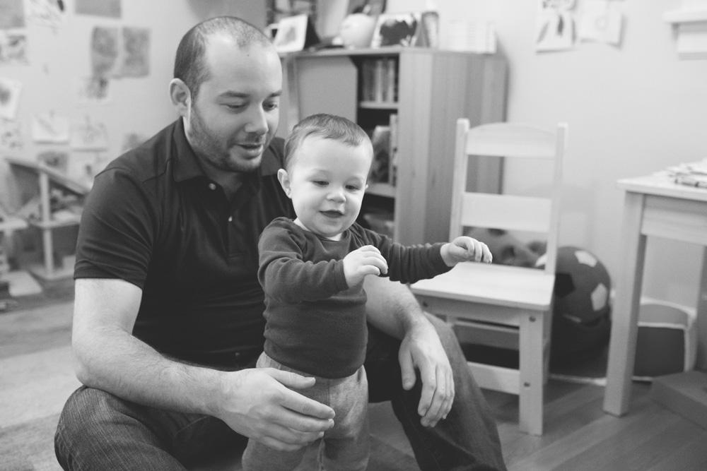 Portland documentary family photography - learning to walk