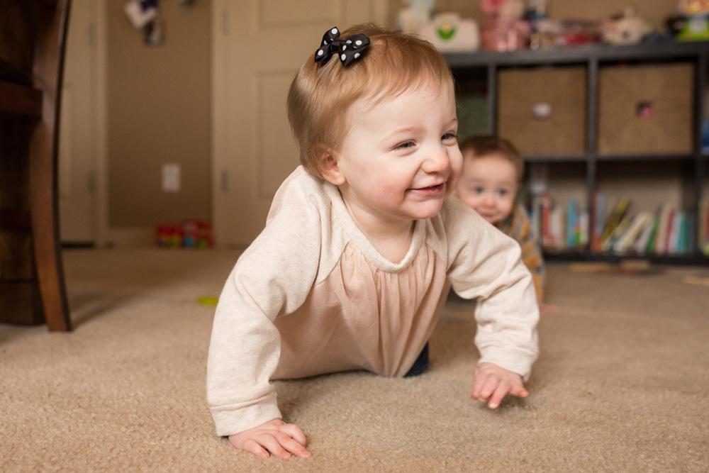 candid baby photography portland