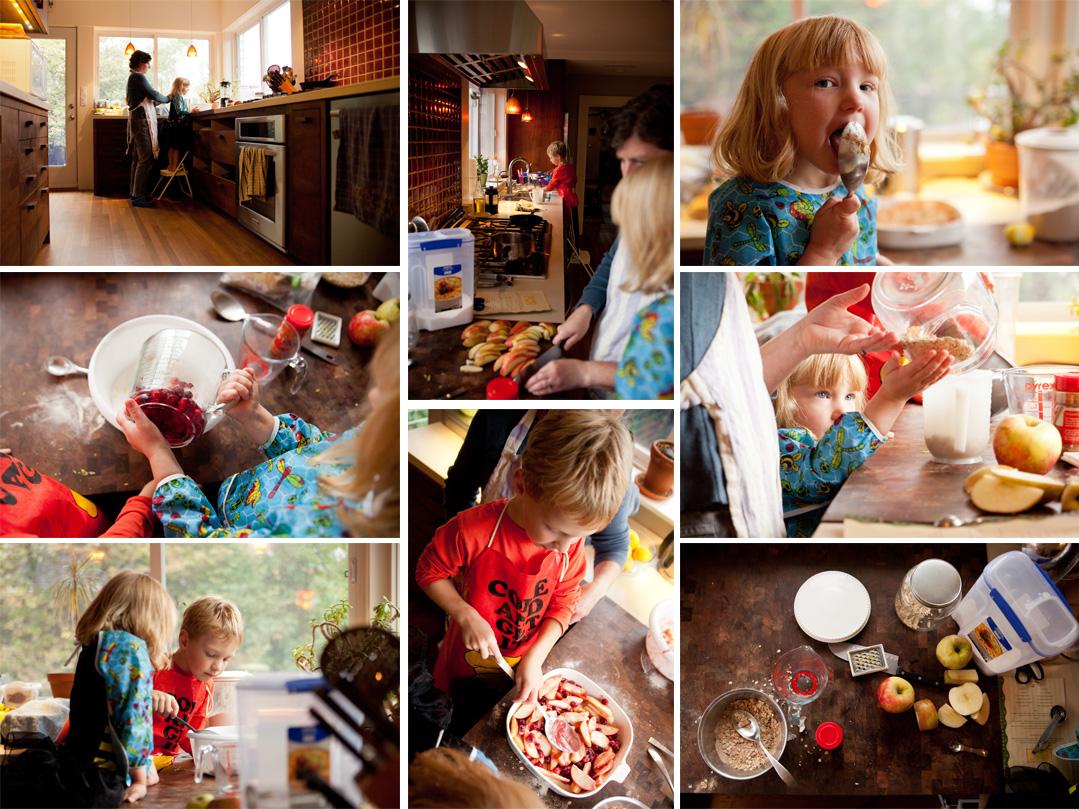 bake collage