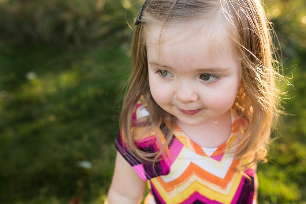 Portland family photography toddler girl