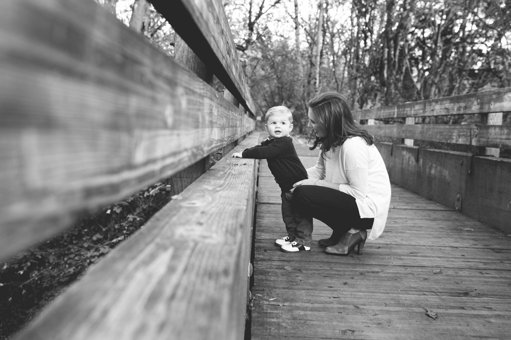 Portland family photography mom and toddler