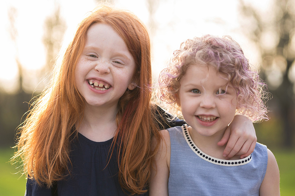 Portland family photography - sisters