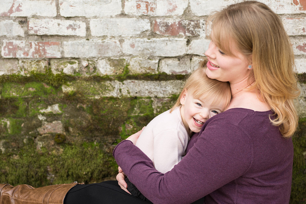 Portland mother daughter photography